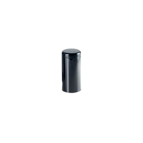 Boîte métallique noire brillante 150g
