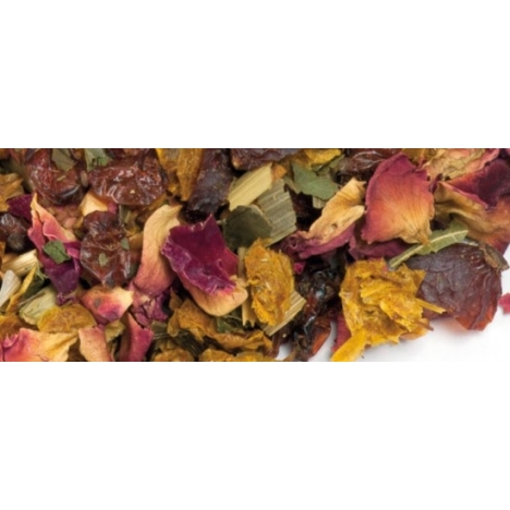 Tisane de plantes, Rose-Cannelle, Fruité